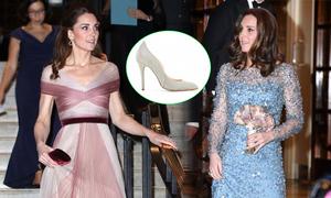 Kate mix một đôi giày với nhiều đầm lộng lẫy