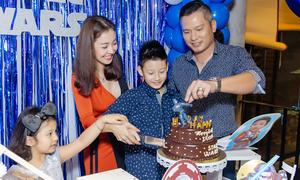 Vợ chồng Jennifer Phạm tổ chức sinh nhật cho Bảo Nam