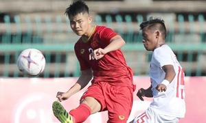 Việt Nam chật vật thắng Philippines ở giải U22 châu Á
