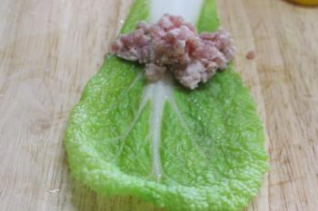 Canh cải thảo cuộn thịt ngọt thanh - 2