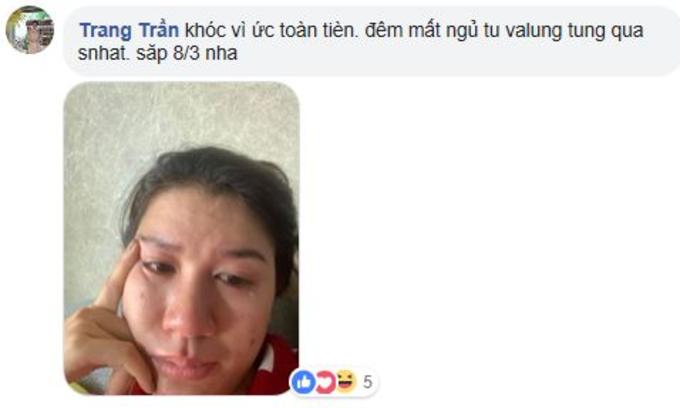 Trang Trần đã khóc trước lời chúc mừng sinh nhật của ông xã.