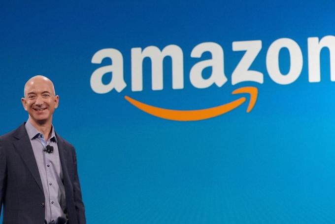 Jeff Bezos - Nhà sáng lập kiêm CEO của Amazon hiện là người giàu nhất thế giới. Ảnh: Medium.