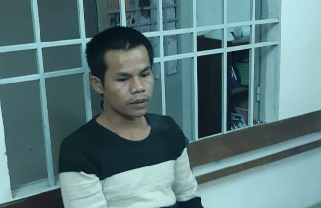 Phạm Tuấn tại cơ quan điều tra. Ảnh: C.A.