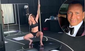 Bạn trai trầm trồ khi xem Jennifer Lopez học múa cột