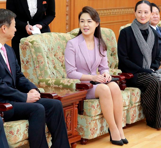 Gu thời trang tiên phong của phu nhân ông Kim Jong-un