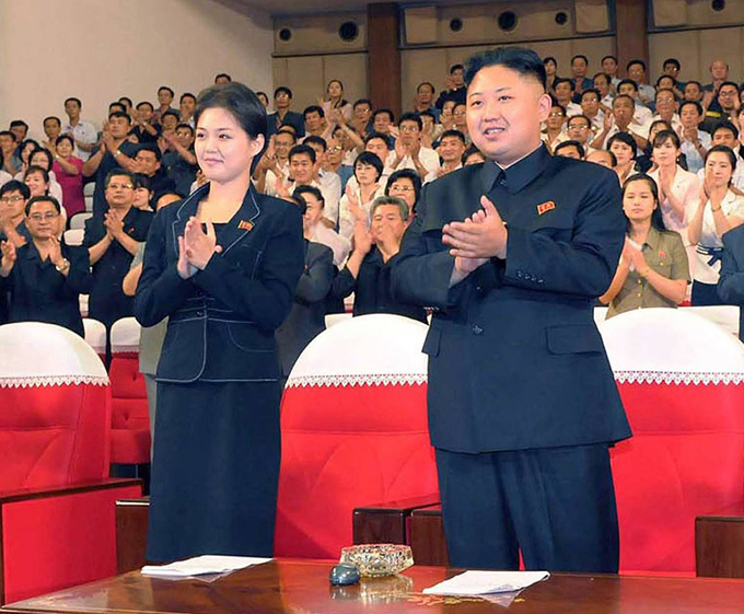 Gu thời trang tiên phong của phu nhân ông Kim Jong-un - 1