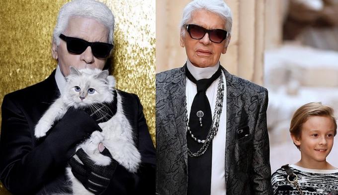 Giám đốc sáng tạo Chanel mất ngày 19/2 do ung thư tuyến tụy, hai ứng viên thừa kế tài sản của ông là mèo Choupette và con trai đỡ đầu, Hudson Kroenig.