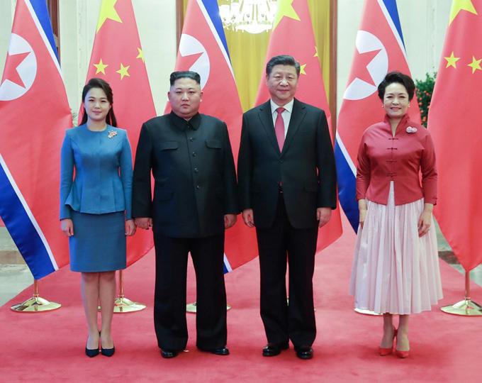 Gu thời trang tiên phong của phu nhân ông Kim Jong-un - 5