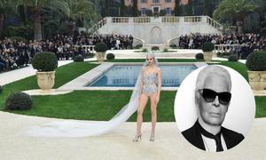 7 trang phục cưới có tính đột phá từ Karl Lagerfeld