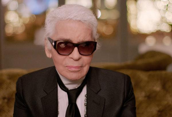 Huyền thoại làng mốt Karl Lagerfeld.