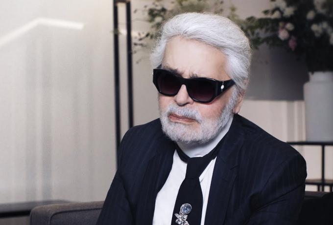 Huyền thoại làng mốtKarl Lagerfeld đảm nhận vai trò giám đốc sáng tạo của Chanel 36năm qua.
