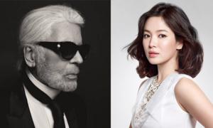 Dàn sao thế giới thương tiếc huyền thoại Karl Lagerfeld