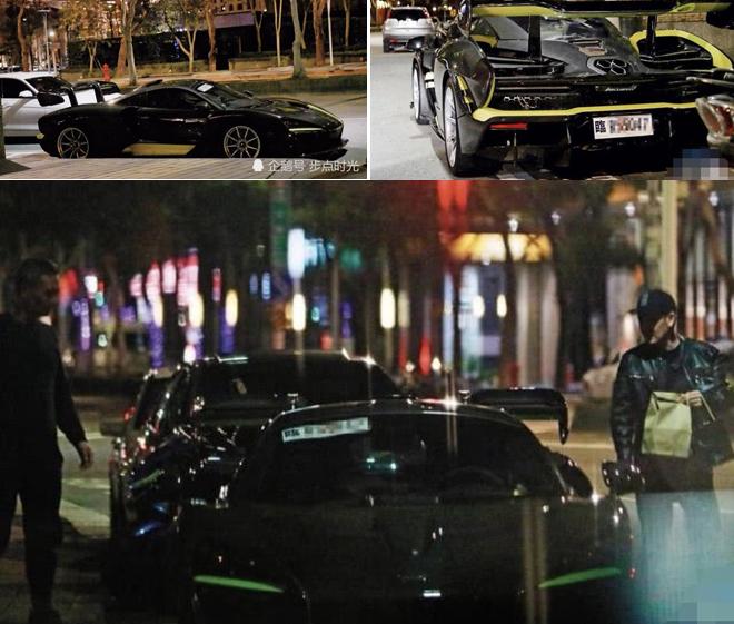 Chiếc xe mới coóng của Lâm Chí Dĩnh.