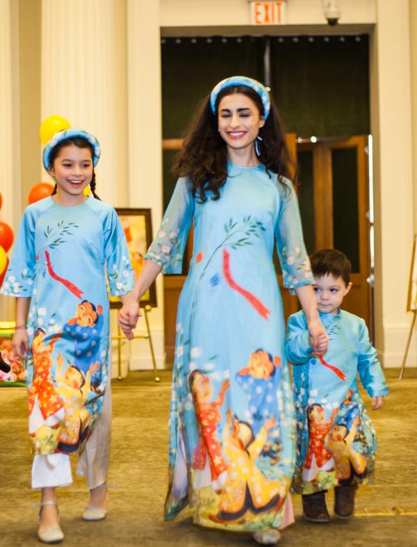 Bộ sưu tập Ý xuân từng được Ngọc Hân giới thiệu trong Duyên dáng Việt Nam 2019. Bộ sưu tập được cô lấy cảm hứng từ những câu ca dao, tục ngữ về Tết, dành cho cả người lớn lẫn trẻ em.