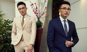 Suit chú rể theo phong cách thời trang Anh cho xuân hè 2019