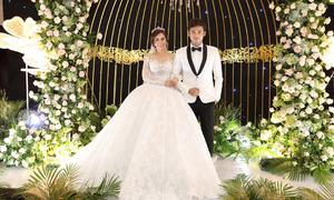 Vũ Ngọc Ánh diện 3 váy cưới lấy cảm hứng từ hoàng gia châu Âu