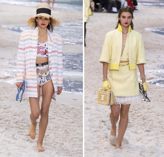 Chanel biến bảo tàng thành bãi biển  - 6