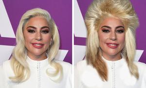 Sao Hollywood mất điểm khi thử kiểu tóc bờm sư tử thập niên 80