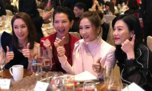 Lê Tư đọ sắc cùng dàn 'đại mỹ nhân' TVB thập niên 90