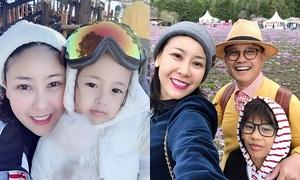 Cuộc sống viên mãn của Hoa hậu Hà Kiều Anh ở tuổi 43