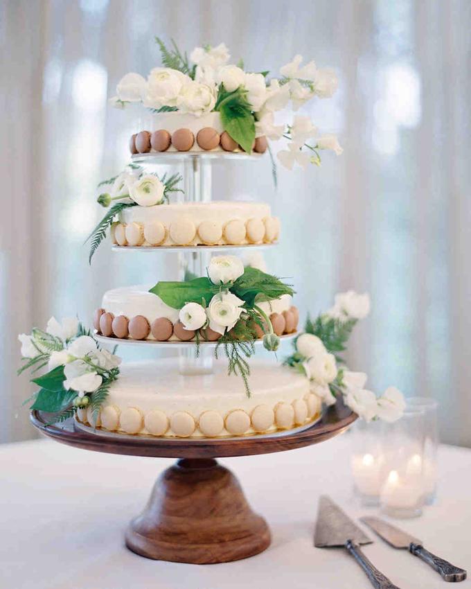 Ý tưởng bánh macaron độc đáo cho trang trí tiệc cưới