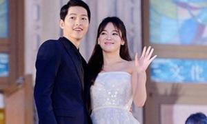 Vợ chồng Song Hye Kyo phủ nhận hôn nhân trục trặc