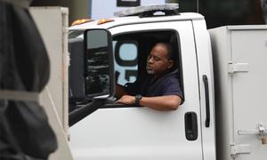 Mật vụ Mỹ hộ tống xe chở thiết bị tới khách sạn Marriott Hà Nội