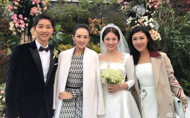 Song Hye Kyo trong ngày cưới năm 2017.
