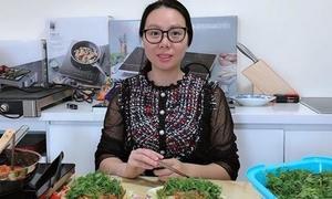 Nữ giám đốc làm việc 12 giờ mỗi ngày vẫn dậy sớm nấu ăn cho chồng con