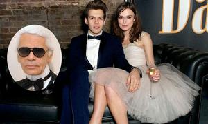 5 cô dâu nổi tiếng từng diện váy cưới đến từ Karl Lagerfeld