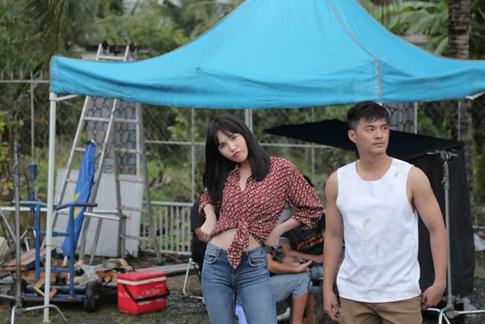 Lâm Vinh Hải đóng chung với Ngọc Trinh trong phim Vu quy đại náo.