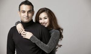 Võ Hạ Trâm hạnh phúc khi được chồng Ấn Độ thương yêu
