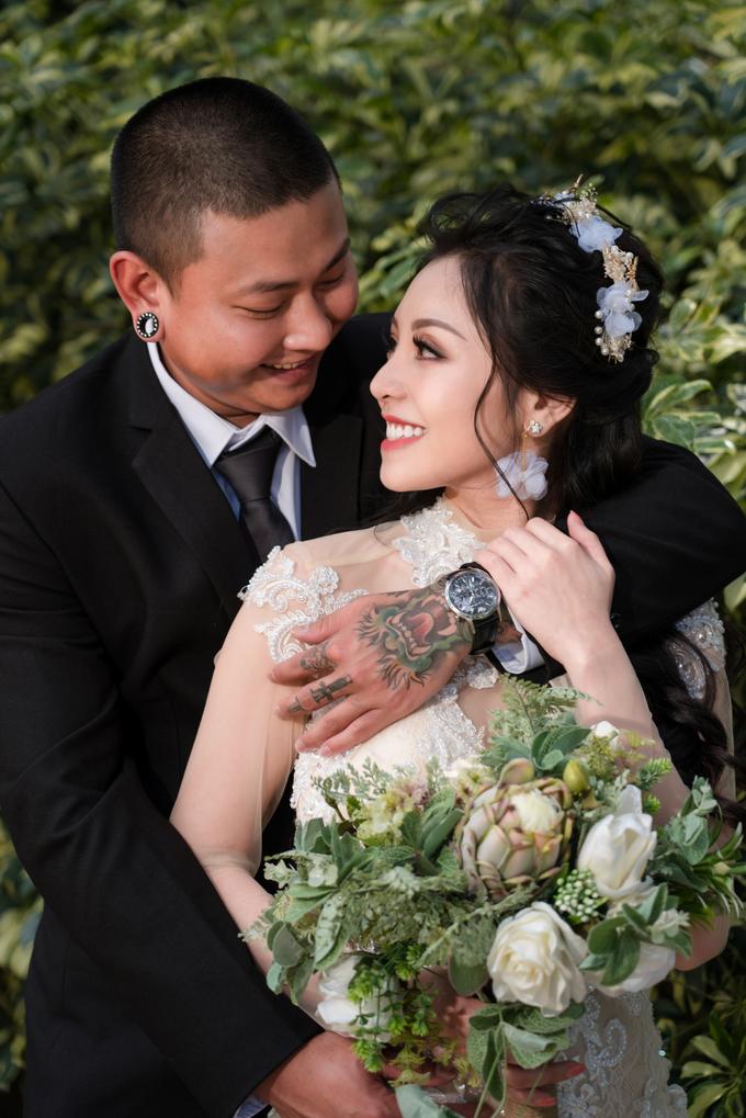 Ảnh cưới ở Sydney của nghệ sĩ xăm hình