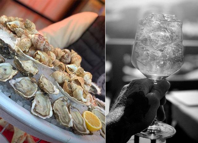 Becks cũng đăng tải ảnh chụp món ăn và đồ uống trong kỳ nghỉ