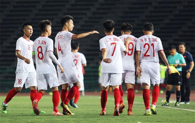 U22 Việt Nam có giải đấu không thành công ở Campuchia.