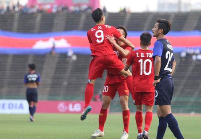 Việt Nam thắng Campuchia, giành HC đồng U22 Đông Nam Á