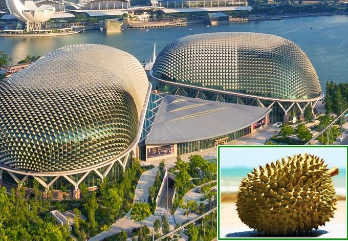 4 công trình đồ ăn thú vị ở Singapore