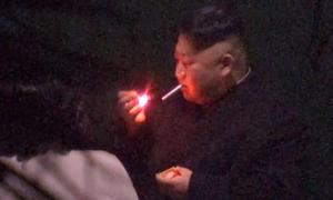 Kim Jong-un dừng tàu hút thuốc ở Trung Quốc