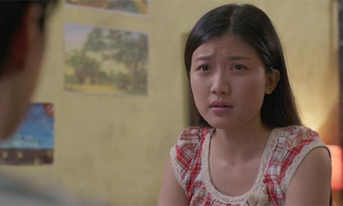 Tạo hình của Lương Thanh trong Những cô gái trong thành phố.