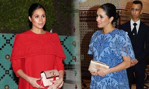Meghan tiêu tốn gần 3,5 tỷ đồng cho trang phục 3 ngày ở Morocco