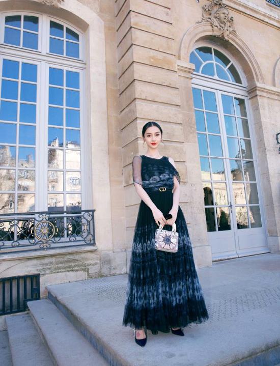 Angelababy khoe sắc tại Tuần lễ Thời trang Paris - 5