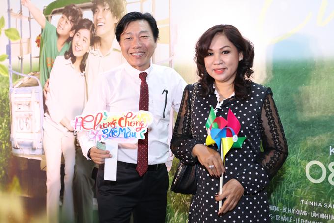 Vợ chồng nghệ sĩ Kiến An.