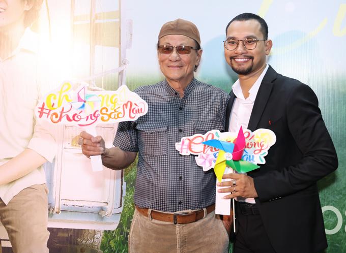 Đạo diễn Lê Cung Bắc mừng đàn em Huỳnh Đông chuyển hướng từ diễn viên sang nghề đạo diễn.