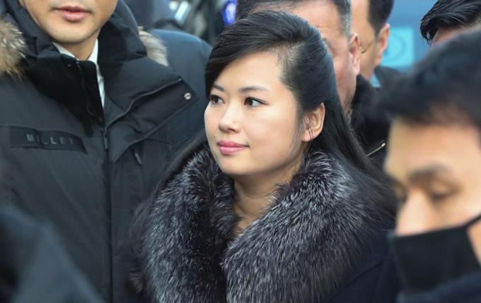 Hyon Song-wol dự Olympic ở Pyeongchang, Hàn Quốc tháng 2/2018. Ảnh: Reuters.