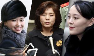 4 nữ chính khách tháp tùng ông Kim Jong-un đến Việt Nam