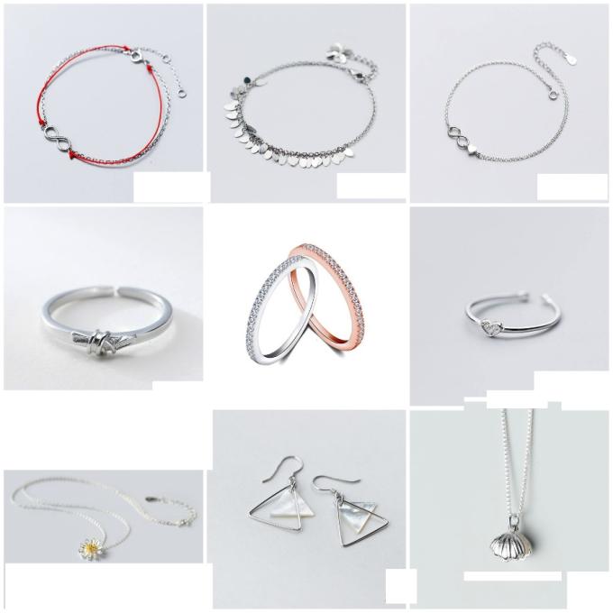 Hanada: Nổi bật với dòng sản phẩm trang sức được chế tác từ bạc cao cấp, Hanada mang phong cách đơn giản, nhưng độc đáo từ những chiếc nhẫn cá tính đến nhẹ nhàng, hay lắc tay bạc xinh xắn đến kết hợp đá và charm bạc mới lạ.