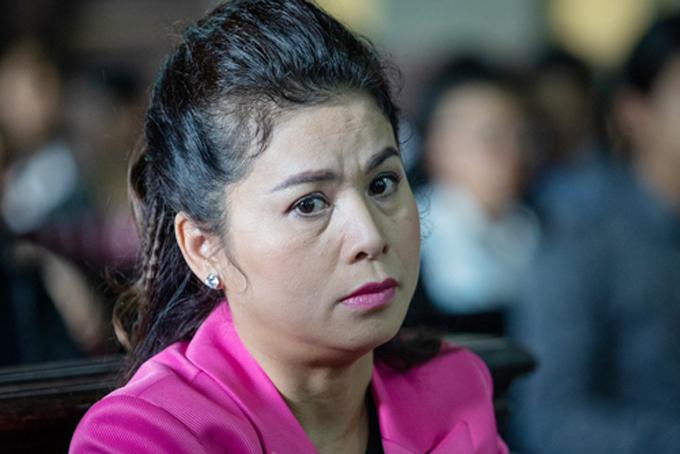 Bà Thảo tại phiên tòa 25/2. Ảnh: Thành Nguyễn.