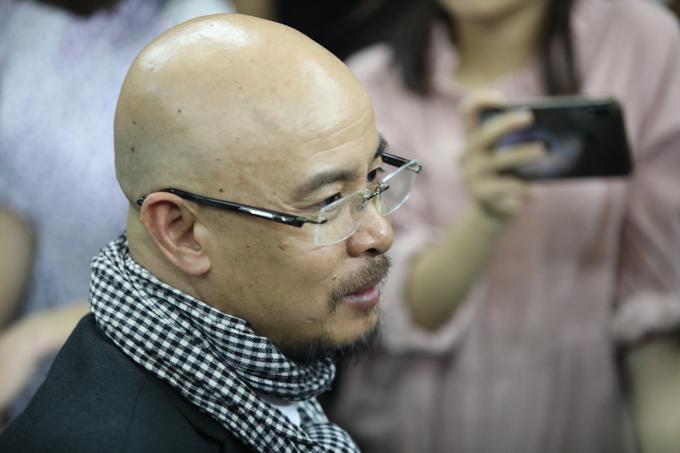 Ông Vũ tại phiên tòa chiều 1/3. Ảnh: Thành Nguyễn.