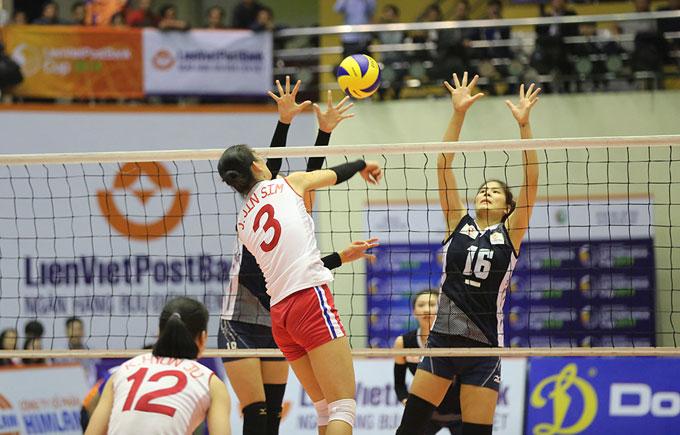Đội Thông tin và Triều Tiên chơi nỗ lực từ đầu trận.