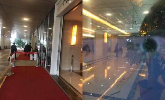 Dương Mịch ở sân bay đi Hong Kong hôm 1/3.